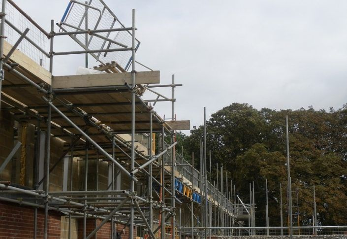 Our scaffolding contractor in Northampton